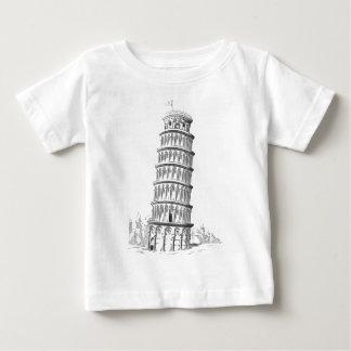 Bosquejo de la señal de Italia - torre inclinada T-shirt