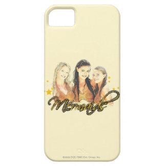 Bosquejo de la sirena iPhone 5 Case-Mate protector