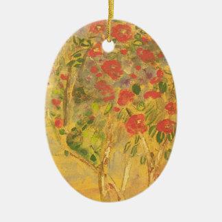 bosquejo de las camelias ornamentos de navidad