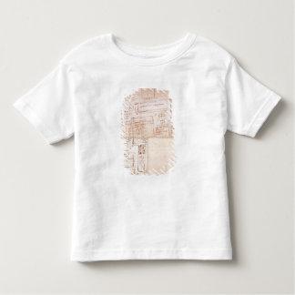Bosquejo de los bloques del mármol para las tee shirt