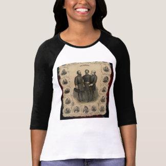 Bosquejo de los héroes de la guerra civil camisas