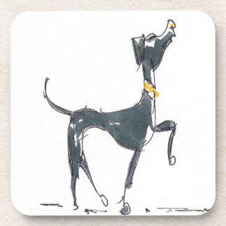 Bosquejo de un sistema del perro de prácticos de c posavasos de bebidas
