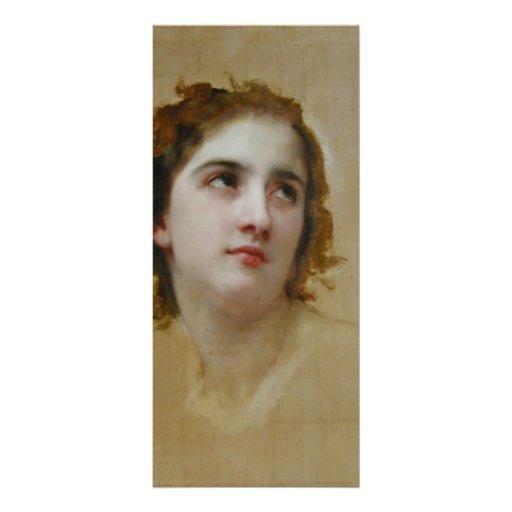 Bosquejo de una mujer joven de Guillermo Bouguerea Lonas Personalizadas