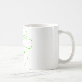 Bosquejo del aficionado del Leprechaun Tazas De Café
