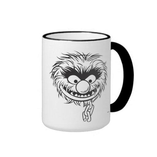 Bosquejo del animal de los Muppets de Disney Taza De Café