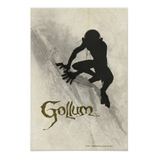 Bosquejo del concepto de Gollum Impresiones
