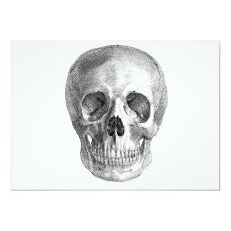 ¡Bosquejo del cráneo perfecto para las necesidades Comunicados