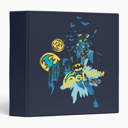 """Bosquejo del cuaderno del guarda de Batman Gotham Carpeta 1 1/2"""""""