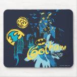 Bosquejo del cuaderno del guarda de Batman Gotham Tapete De Raton