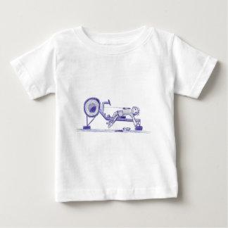 Bosquejo del ergómetro t-shirts