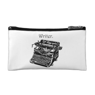 Bosquejo del escritor de la máquina de escribir de