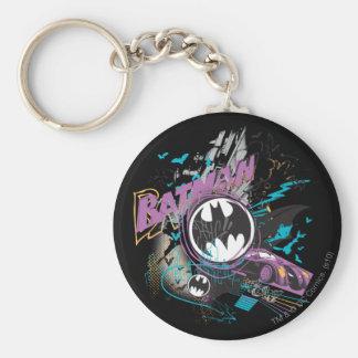 Bosquejo del horizonte de Batman Gotham Llavero