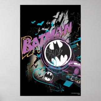 Bosquejo del horizonte de Batman Gotham Impresiones
