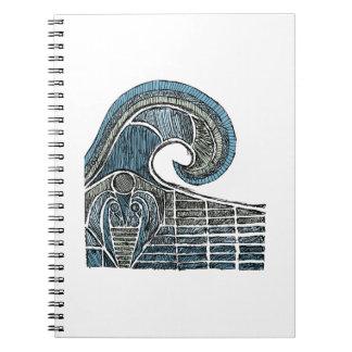 Bosquejo del leviatán - color cuaderno