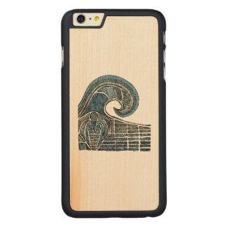 Bosquejo del leviatán - color funda para iPhone 6 de carved® de arce