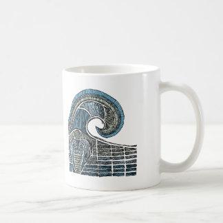 Bosquejo del leviatán - color taza de café