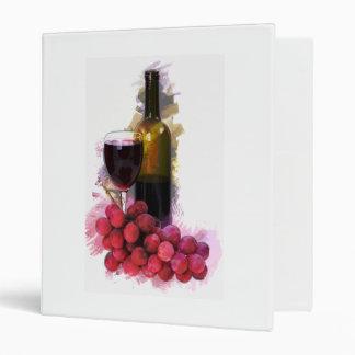 Bosquejo del marcador, copa de vino, botella, uvas