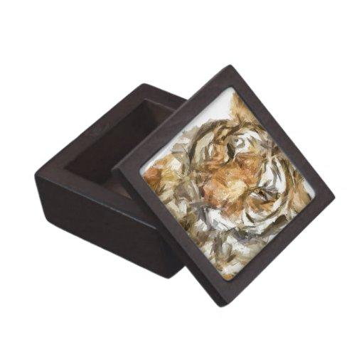 Bosquejo del retrato del tigre (2012) caja de joyas de calidad