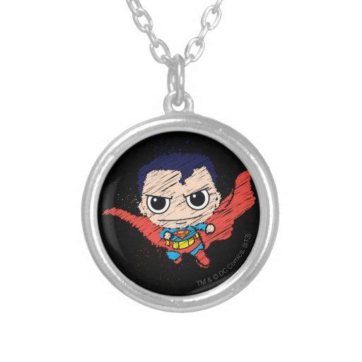 Bosquejo del superhombre de Chibi Grimpolas Personalizadas