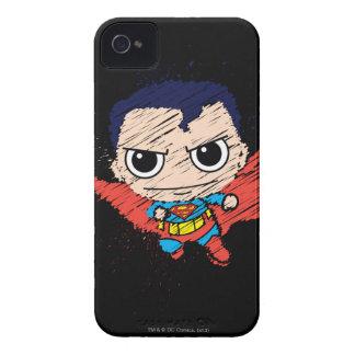 Bosquejo del superhombre de Chibi Case-Mate iPhone 4 Cobertura