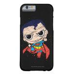 Bosquejo del superhombre de Chibi - vuelo Funda Barely There iPhone 6