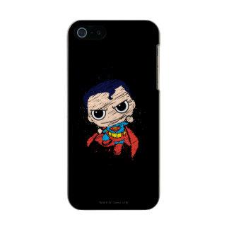 Bosquejo del superhombre de Chibi - vuelo Funda Para iPhone 5 Incipio Feather Shine