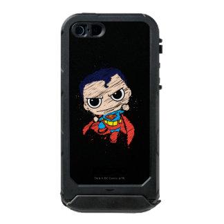 Bosquejo del superhombre de Chibi - vuelo Funda Para iPhone 5 Incipio ATLAS ID