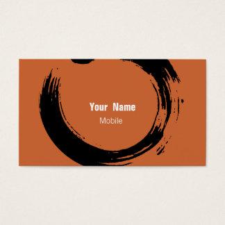 Bosquejo del zen tarjetas de visita