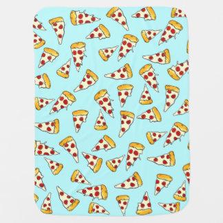 Bosquejo divertido del modelo de la pizza de manta de bebé