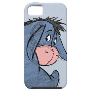 Bosquejo Eeyore 1 iPhone 5 Carcasas