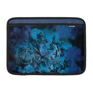 Bosquejo estilizado primero 2 de Optimus Fundas MacBook