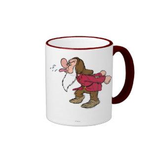 Bosquejo gruñón tazas de café