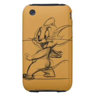 Bosquejo lateral de Jerry Funda Though Para iPhone 3