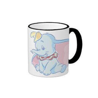 Bosquejo lindo de Dumbo Taza A Dos Colores