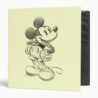 Bosquejo Mickey Mouse