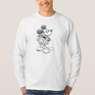 Bosquejo Mickey Mouse Playeras