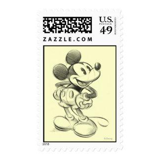 Bosquejo Mickey Mouse Envio