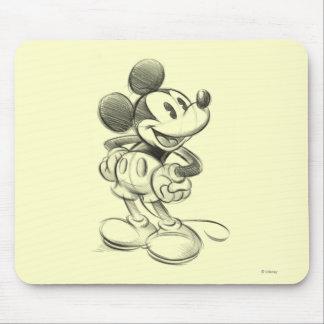 Bosquejo Mickey Mouse Tapete De Raton
