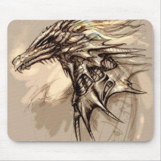 Bosquejo Mousepad del dragón