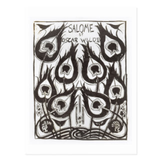 "Bosquejo original para la cubierta de ""Salome"" por Tarjeta Postal"