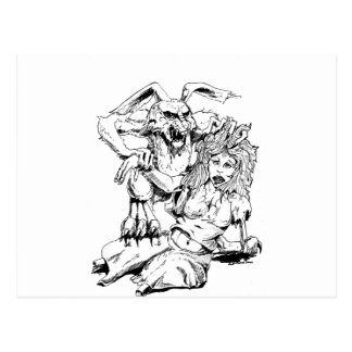 Bosquejo original y diseño del MÚN artista del Postales