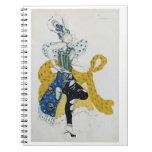 """Bosquejo para el ballet """"Peri del La"""", por Paul Du Libro De Apuntes"""