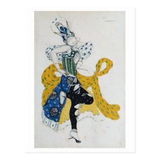 "Bosquejo para el ballet ""Peri del La"", por Paul Tarjeta Postal"