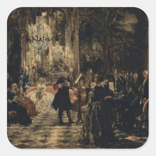 Bosquejo para el concierto de la flauta, 1852 colcomania cuadrada
