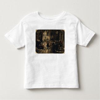 Bosquejo para el concierto de la flauta, 1852 camiseta