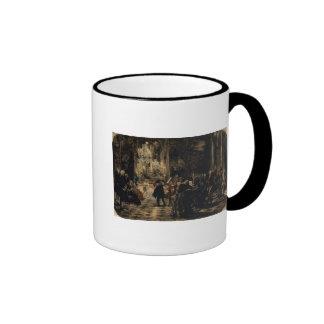 Bosquejo para el concierto de la flauta, 1852 taza de café