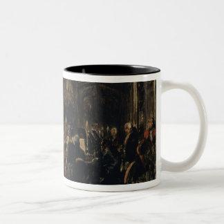 Bosquejo para el concierto de la flauta, 1852 tazas de café