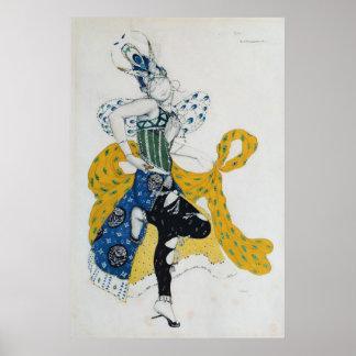 Bosquejo para La Peri del ballet ' Poster