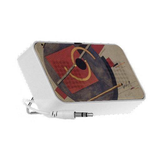 Bosquejo preliminar del EL Lissitzky- para un post Portátil Altavoces