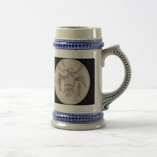 Bosquejo presidencial del sello del archivo jarra de cerveza